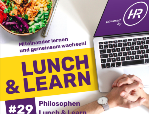 Lunch & Learn 29 : Philosophen Lunch – Lunch & Talk