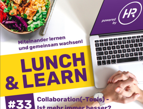 Lunch & Learn 33 : Collaboration(-Tools)