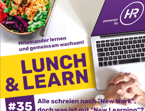 Lunch & Learn 35 : New Learning