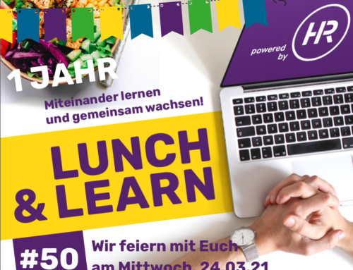 Lunch & Learn 50 : 1 Jahr Lunch & Learn