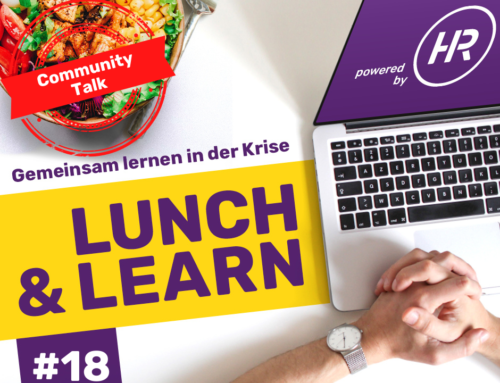 Lunch & Learn 18 : Community Talk – Das WARUM unserer Community