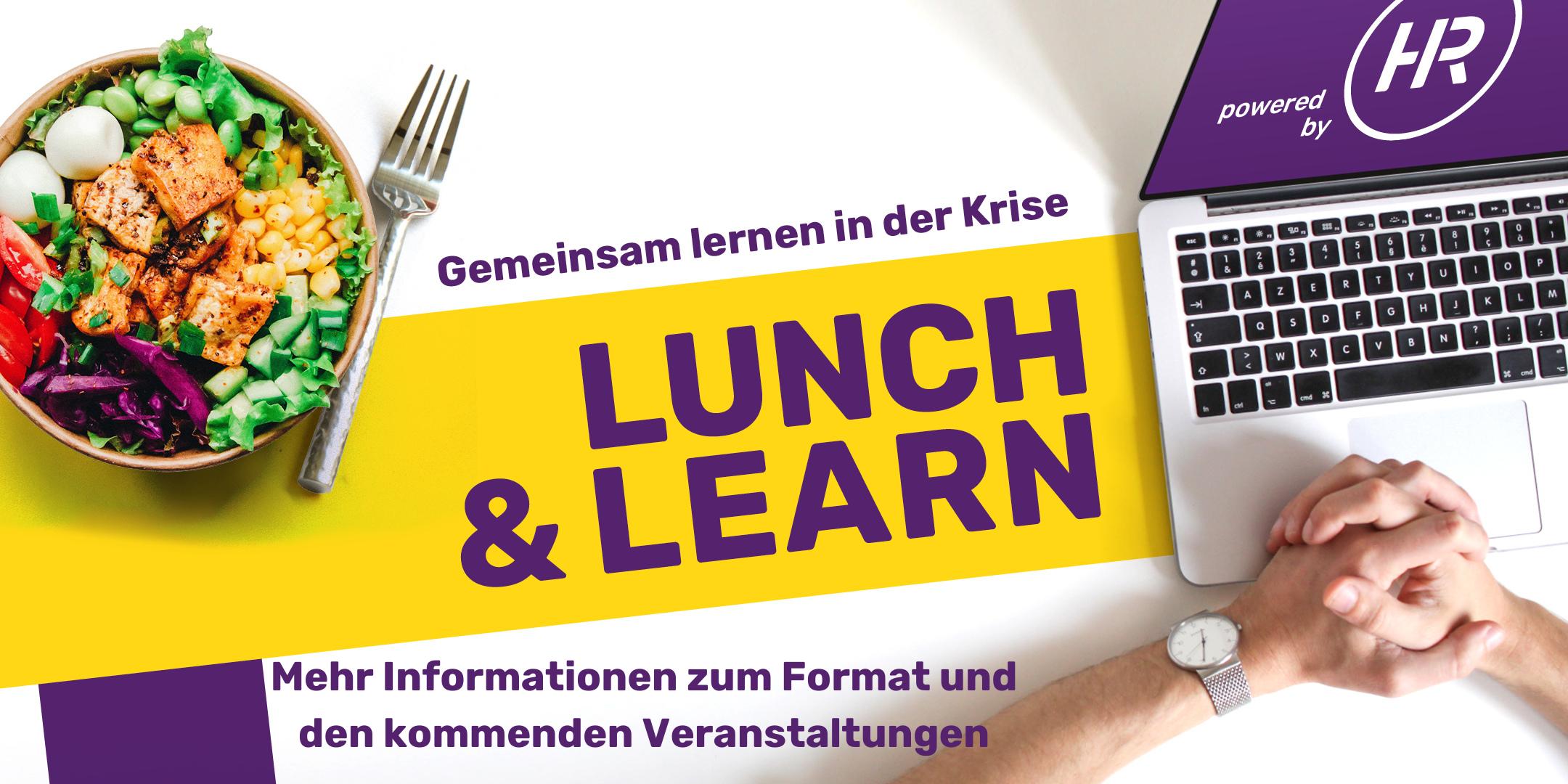 Website Lunch Learn Hauptseite