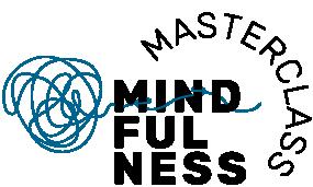 Mindfulness Logo RGB 3 zeilig Schwarz Petrol Masterclass