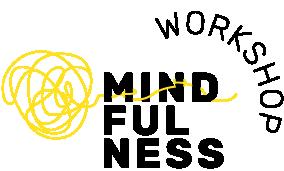 Mindfulness Logo RGB 3 zeilig Schwarz Workshop